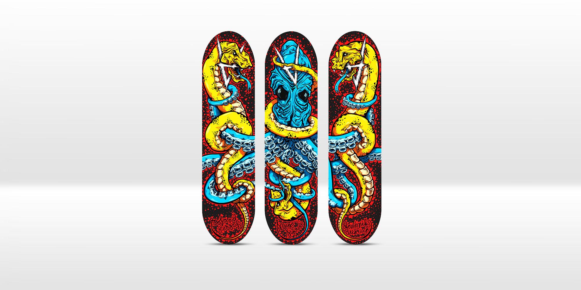 Antiz skateboards detail, Mikko Rauhamäki
